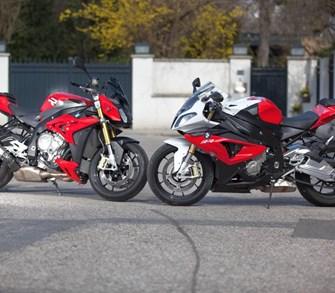 S 1000 RR vs. S 1000 R