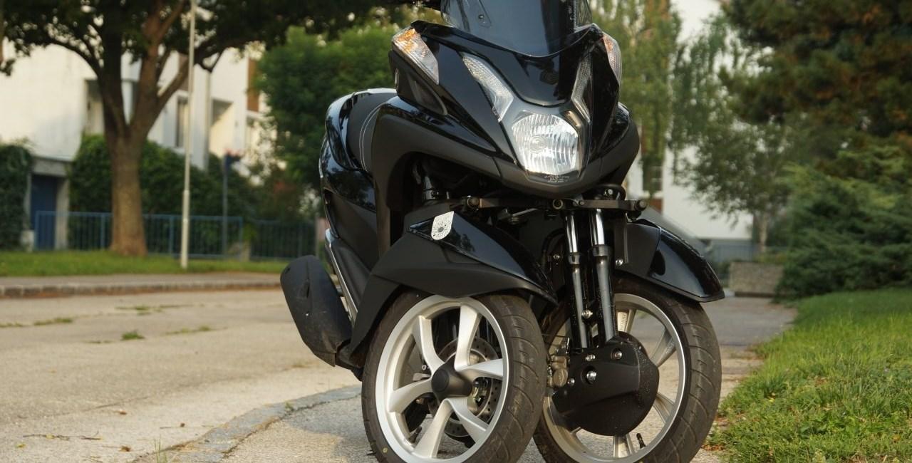 Yamaha Tricity 125 Test