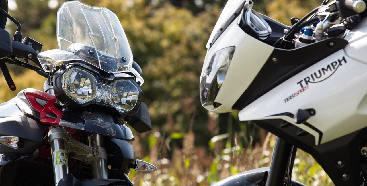 Triumph Tiger 800 XC vs. Triumph Tiger 1050