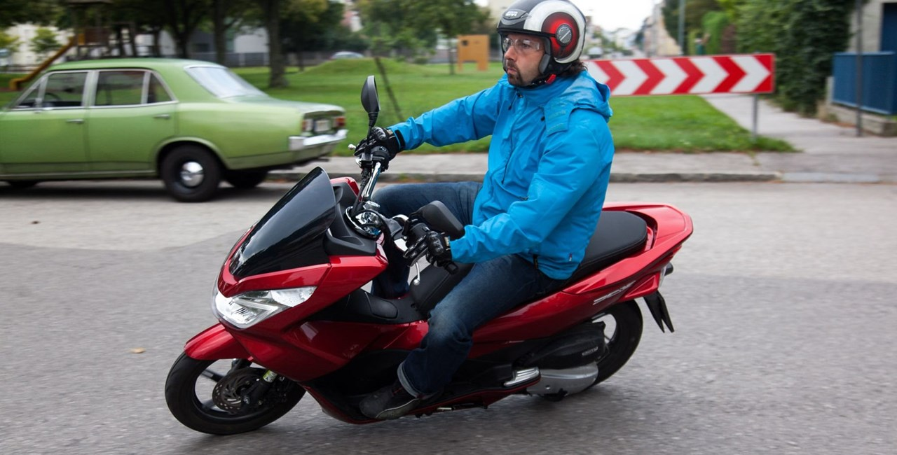 Honda PCX125 Test