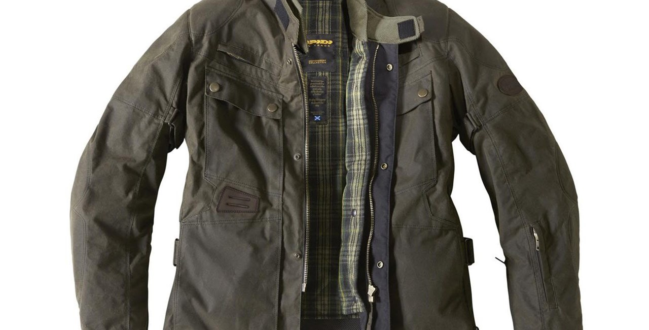 SPIDI Worker Wax H2Out Jacke