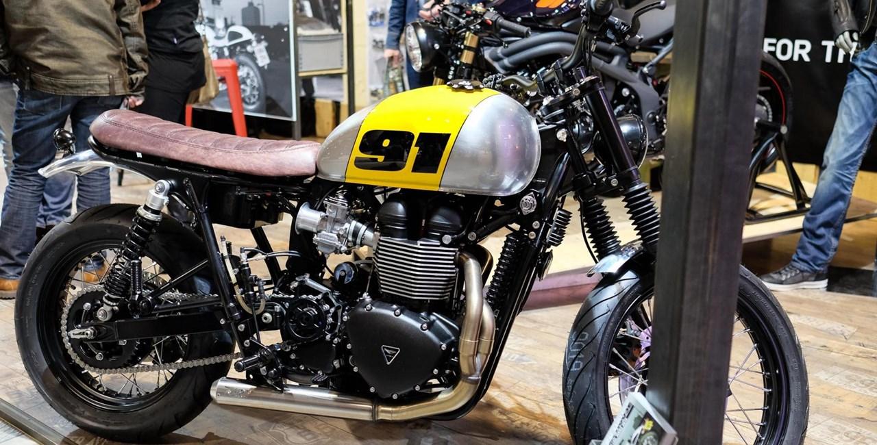 Customizing-Spezialist Moto 91 auf der Swiss-Moto 2015