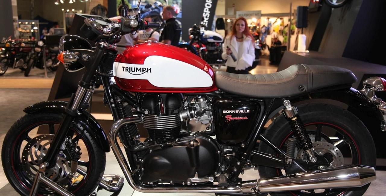 Triumph Neuheiten auf der Swiss-Moto 2015