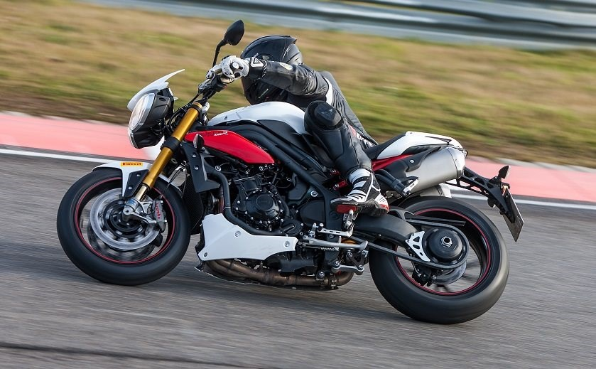 Speed Triple R bei 1000PS-Gripparty in Brünn
