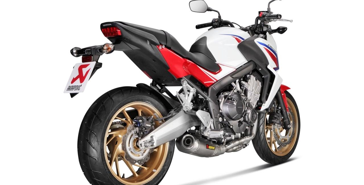 Akrapovic für Honda CB und CBR 650