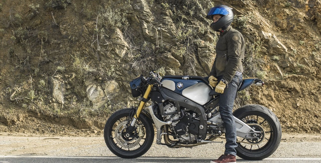 Orlando Bloom fährt BMW S 1000 R Custom