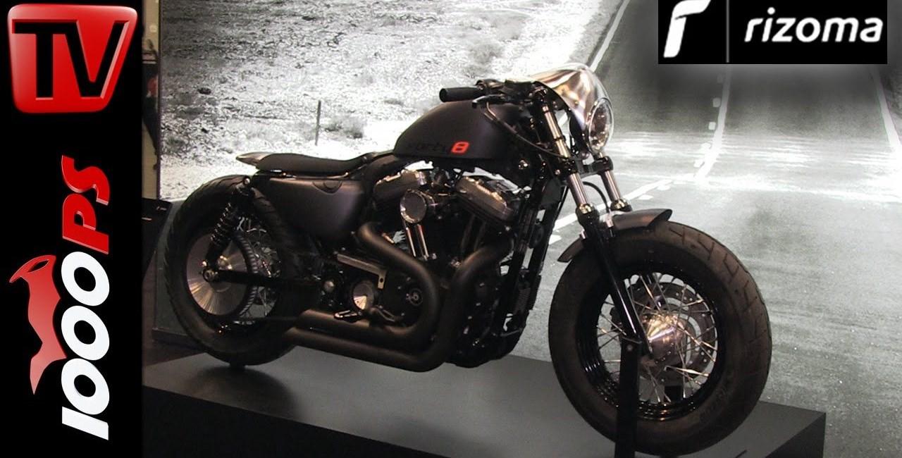 Rizoma Neuheiten 2016 für Harley-Davidson Sportster Forty Eight