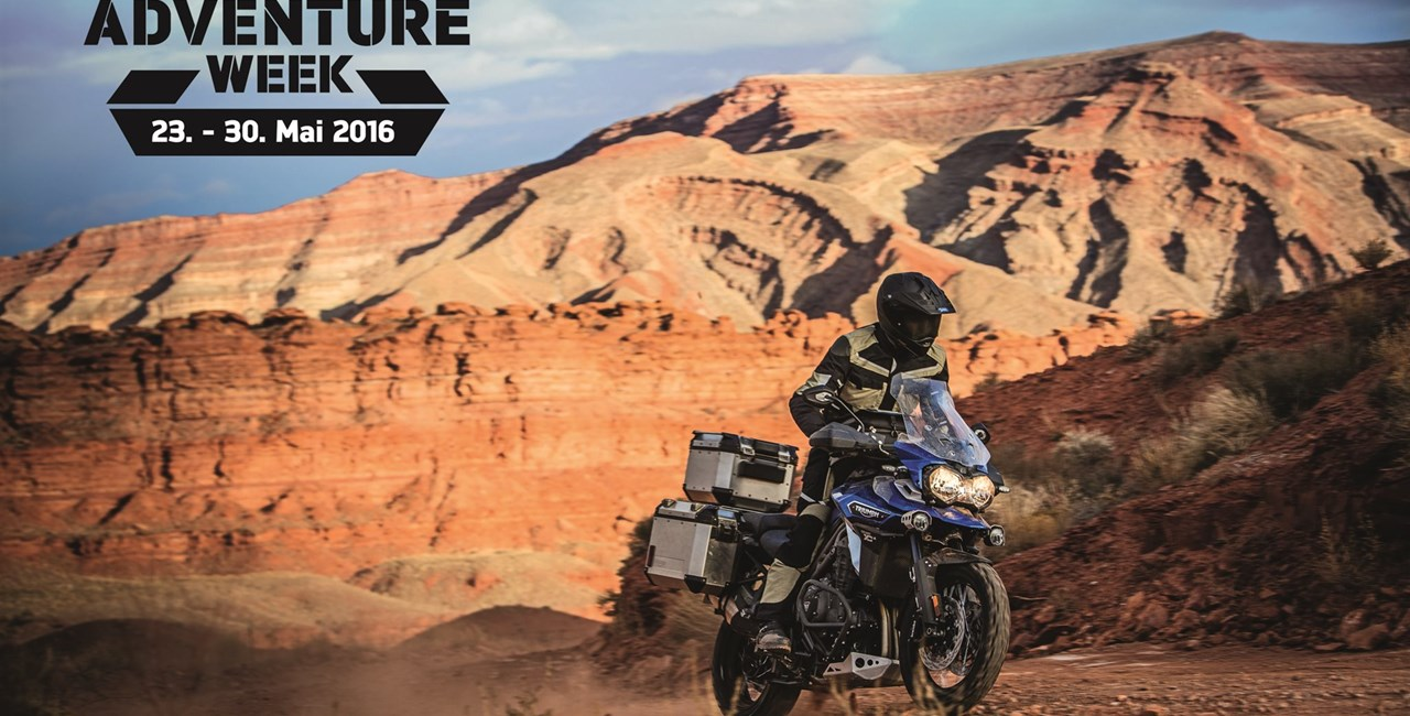 Triumph Tiger Adventure Week 2016