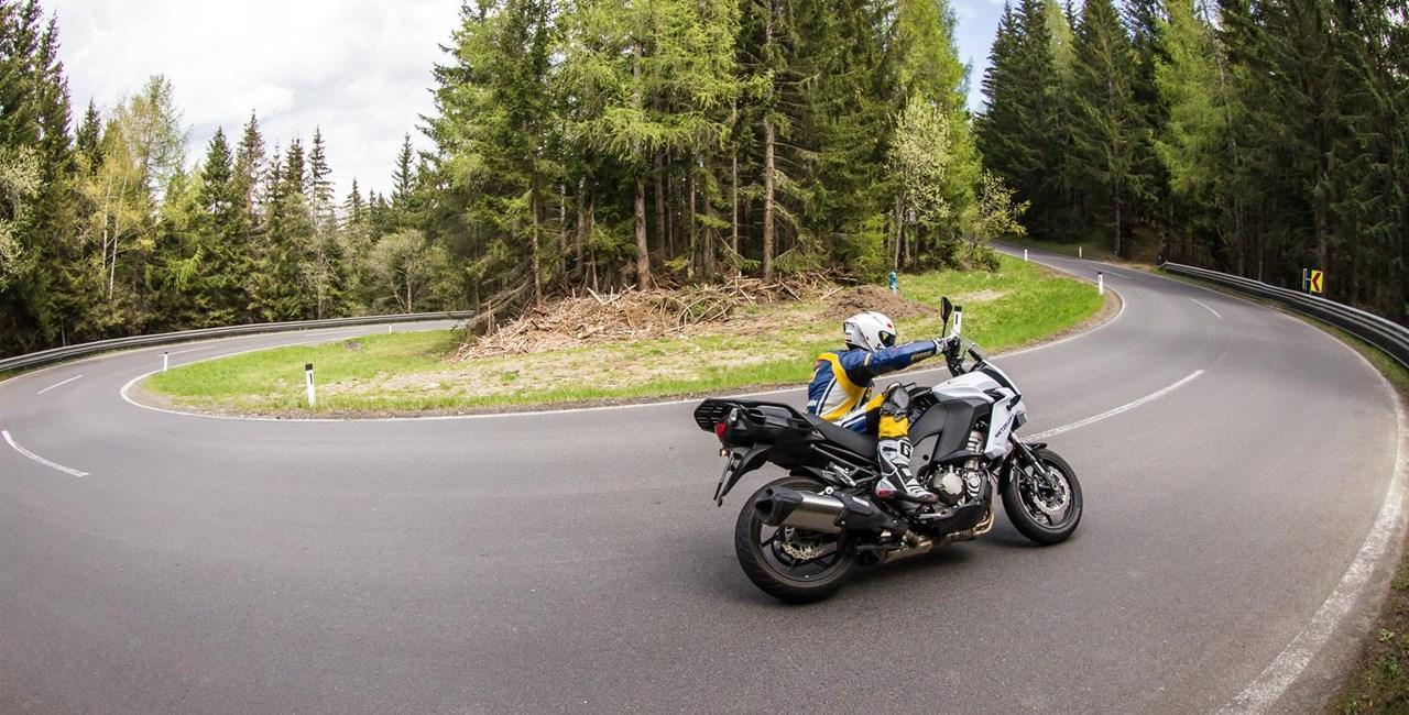 Motorrad-Quartett: Kawasaki Versys 1000 Test