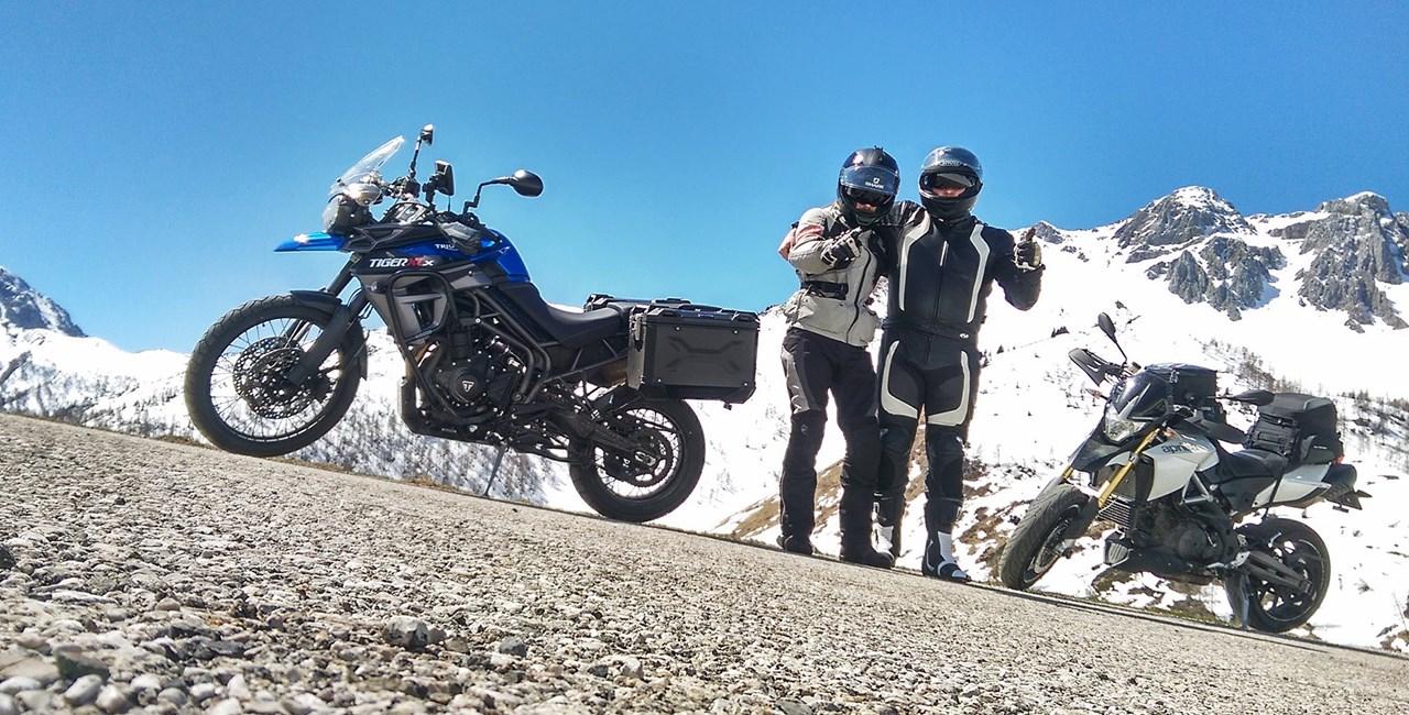 Einmal Schnee in Südtirol und wieder zurück