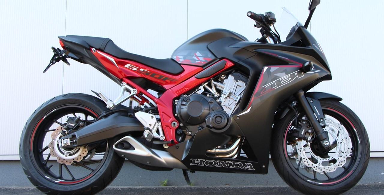 ABM Umbau der Honda CBR 650 F