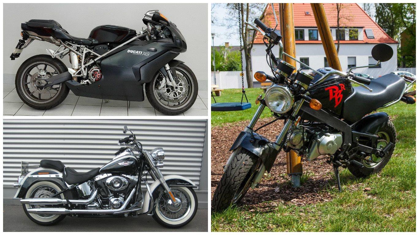 Leute für cruiser motorrad große BMW R