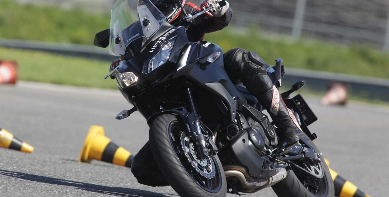 Big-Enduro Melken 2016: Kawasaki Versys 650 Test Bericht Video