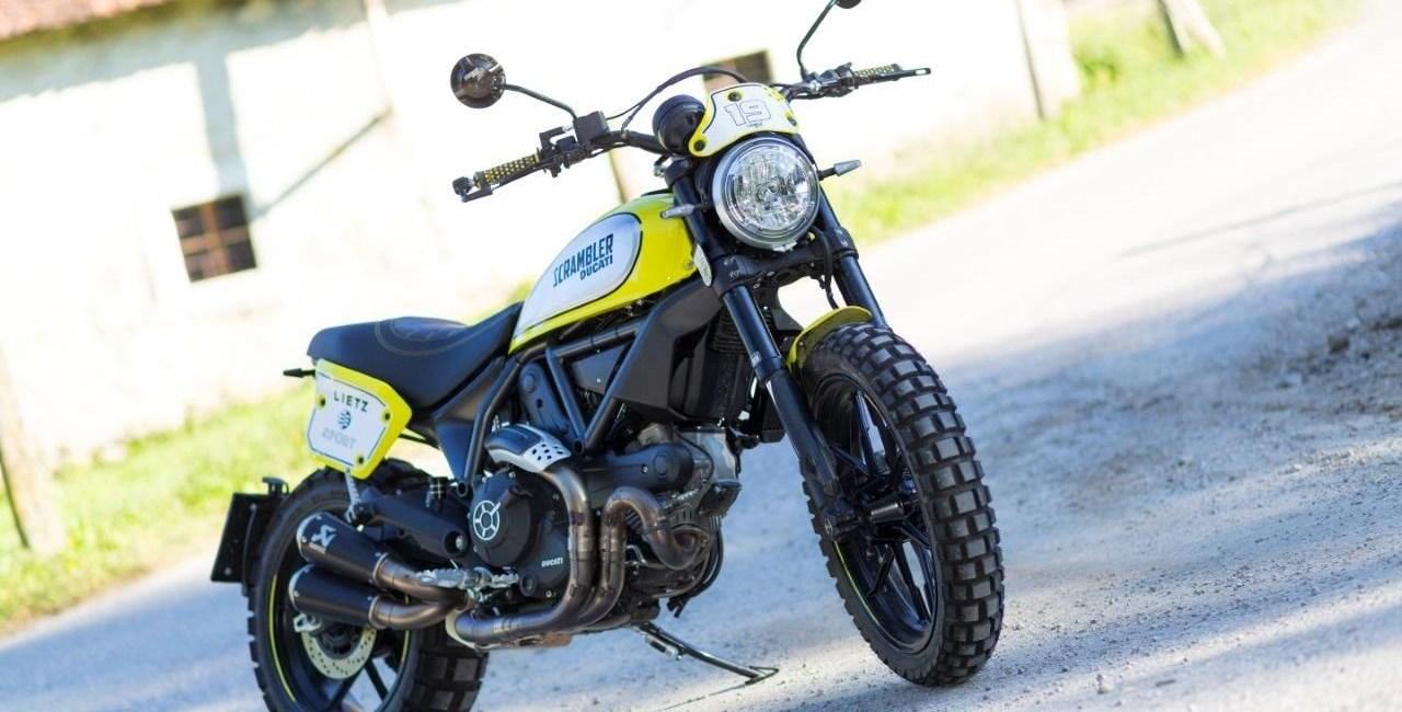 Sonderaufbau Scrambler Ducati Flattrack