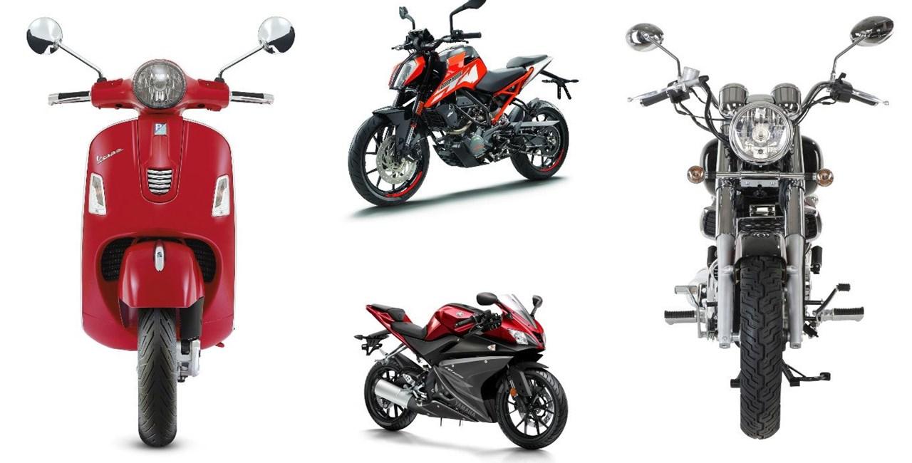 A1 Motorräder - Welches 125er Bike passt zu mir?