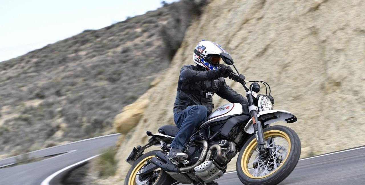 Ducati Scrambler Desert Sled Test 2017