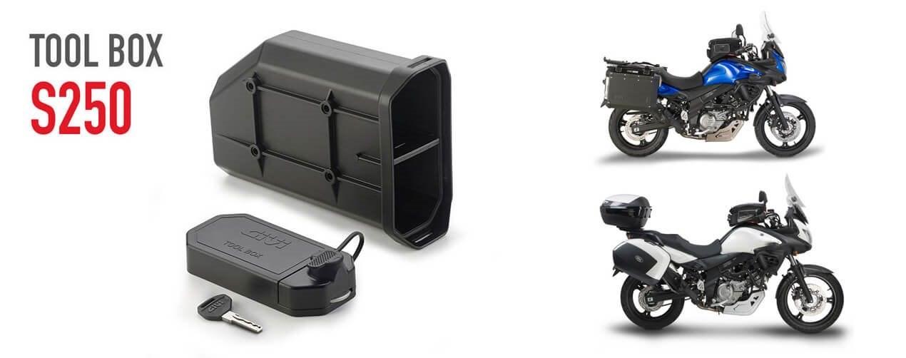 GIVI Tool Box S250 für die Suzuki DL V-Strom 650