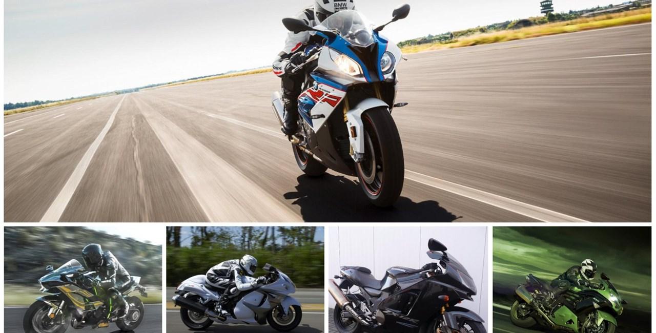 Top 5: 300 km/h Bikes