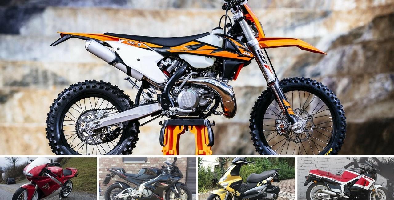 Top 5: Zweitakt Motorräder