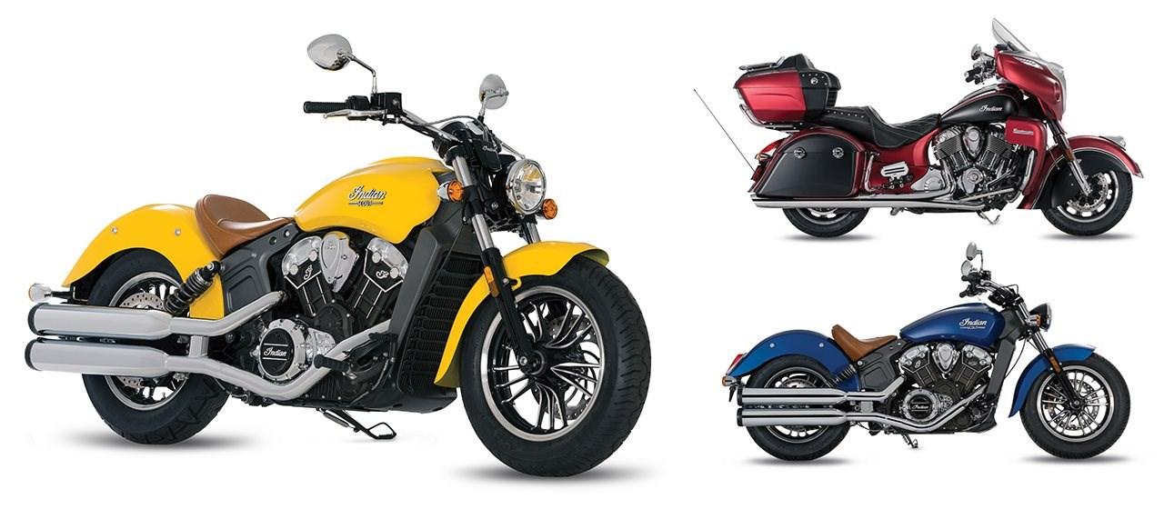 Indian Icon Paint Series: Custom-Lackierungen für Indian Modelle