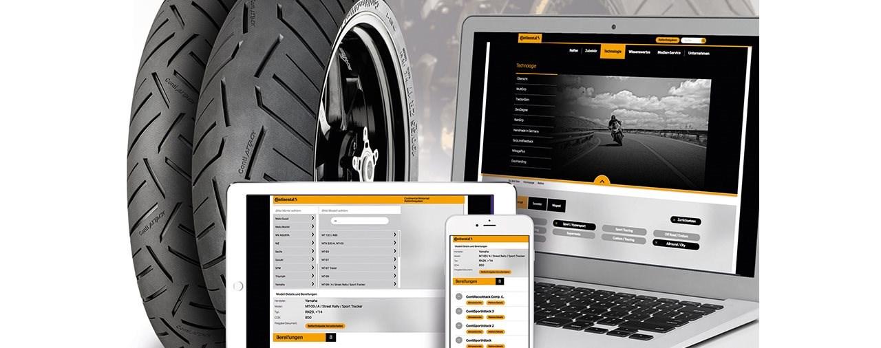 Continental macht Reifenwahl zum Kinderspiel