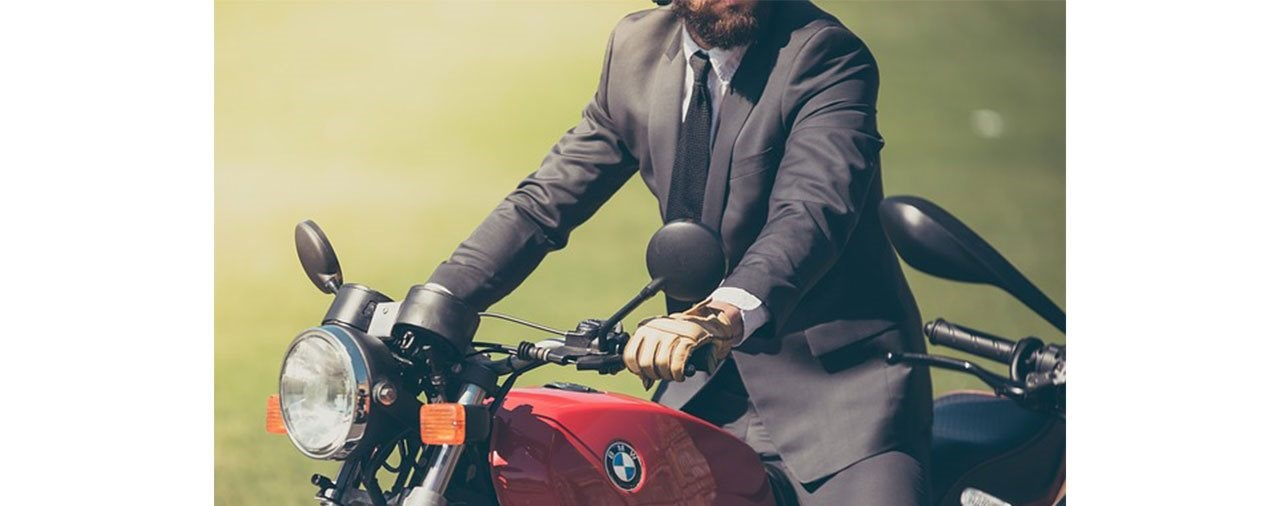 Motorrad als Dienstfahrzeug