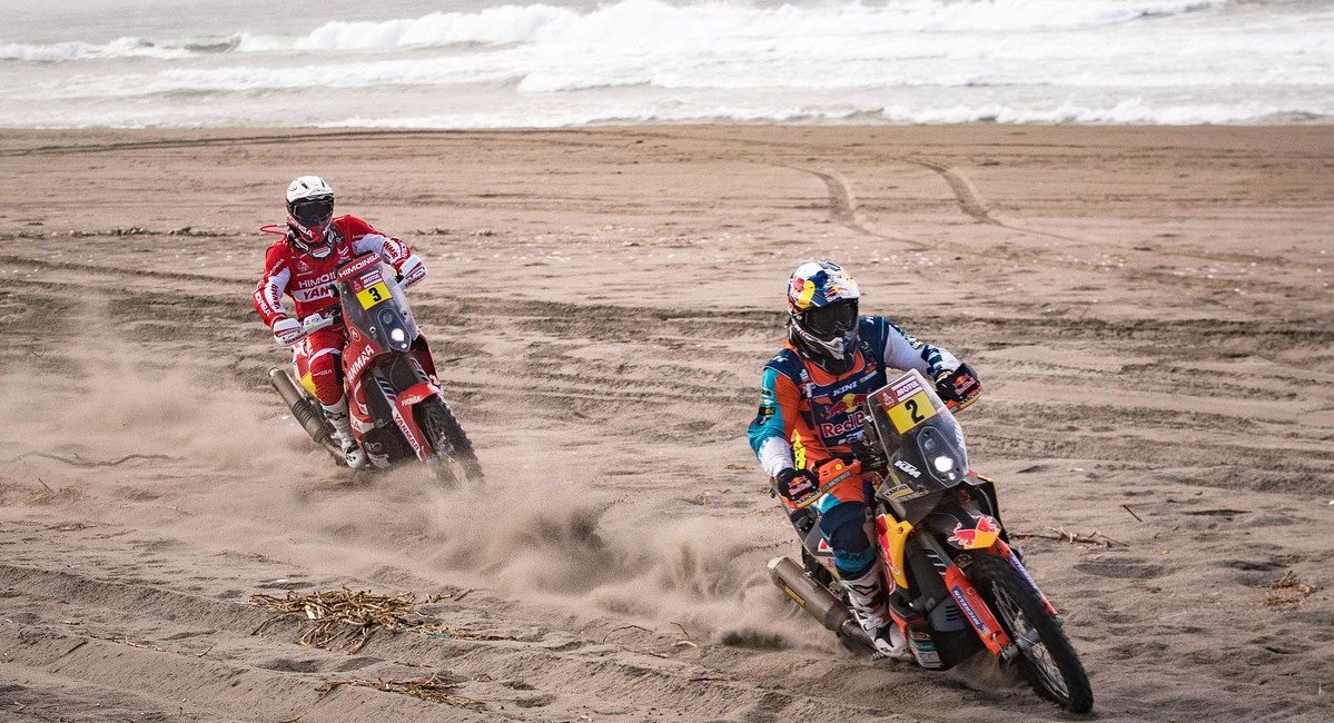 Rallye Dakar 2018 - Walkner auf Podiumskurs!