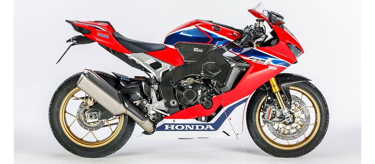Ilmberger Carbonparts stattet die Honda CBR 1000 RR aus