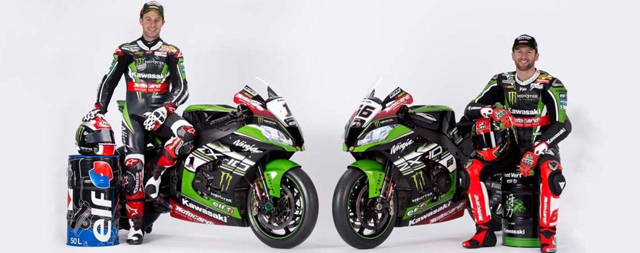 Kawasaki Österreich Partnerschaft mit Total Austria