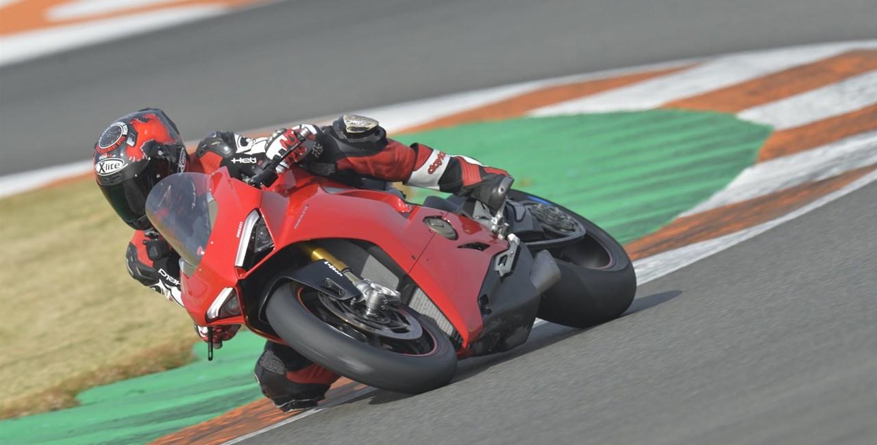 Ducati Panigale V4 2018 Test
