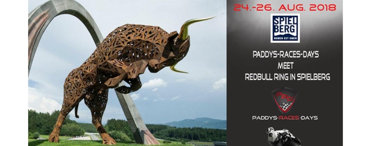 Frühbucherrabatt bei Paddys-Races-Days auf dem Red Bull Ring