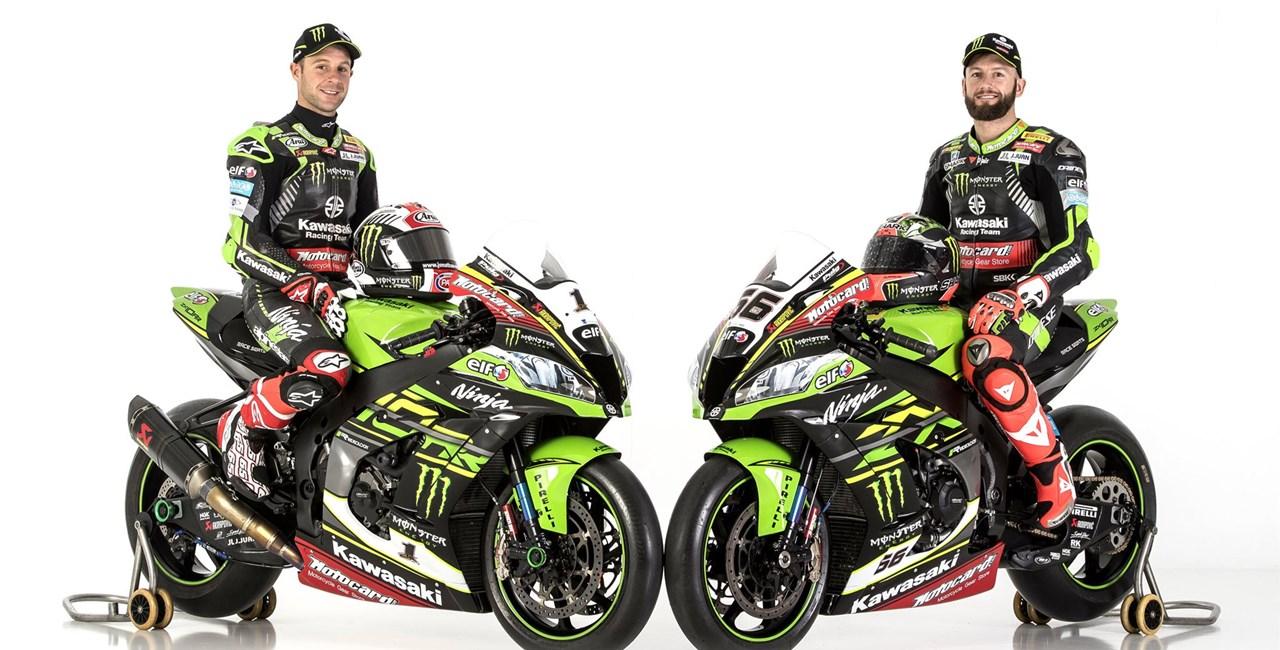 Superbike WM 2018: Kawasaki mit Rea und Sykes