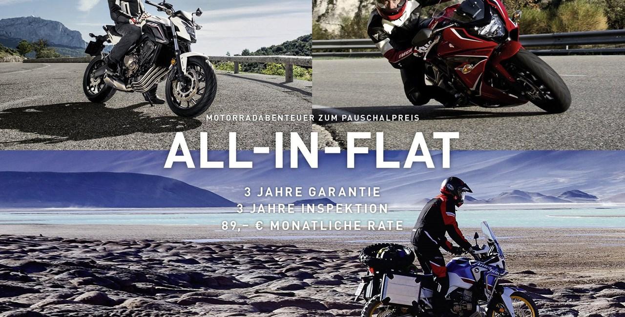 Honda ALL-IN-FLAT 2018