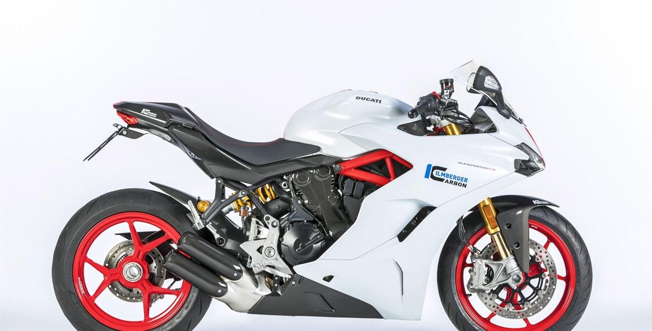 Ducati Supersport mit Ilmberger Carbonparts