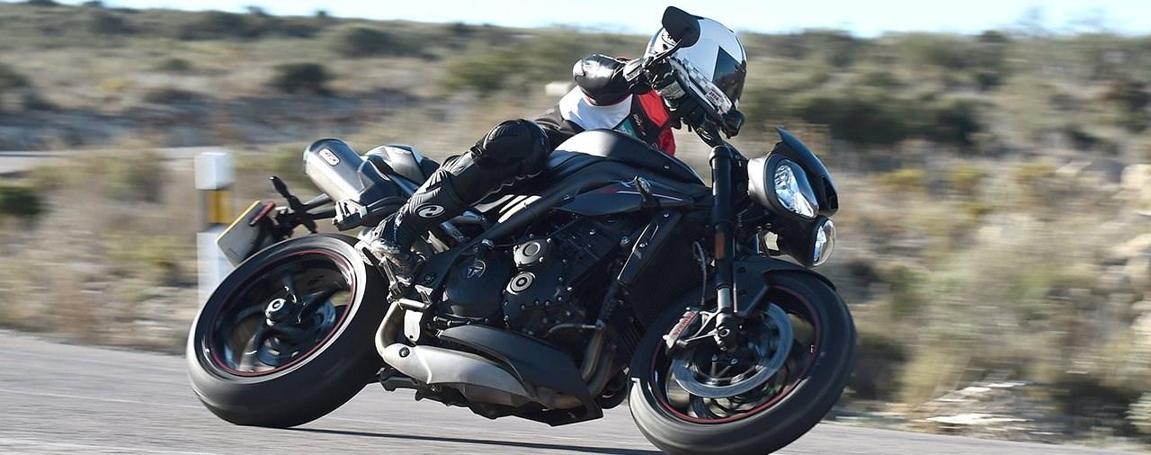 Triumph Speed Triple RS Test