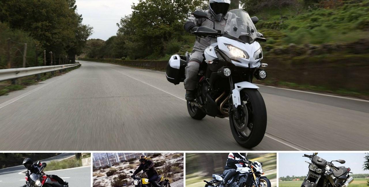 Top 5: Wiedereinsteigermotorräder unter 8.000 Euro