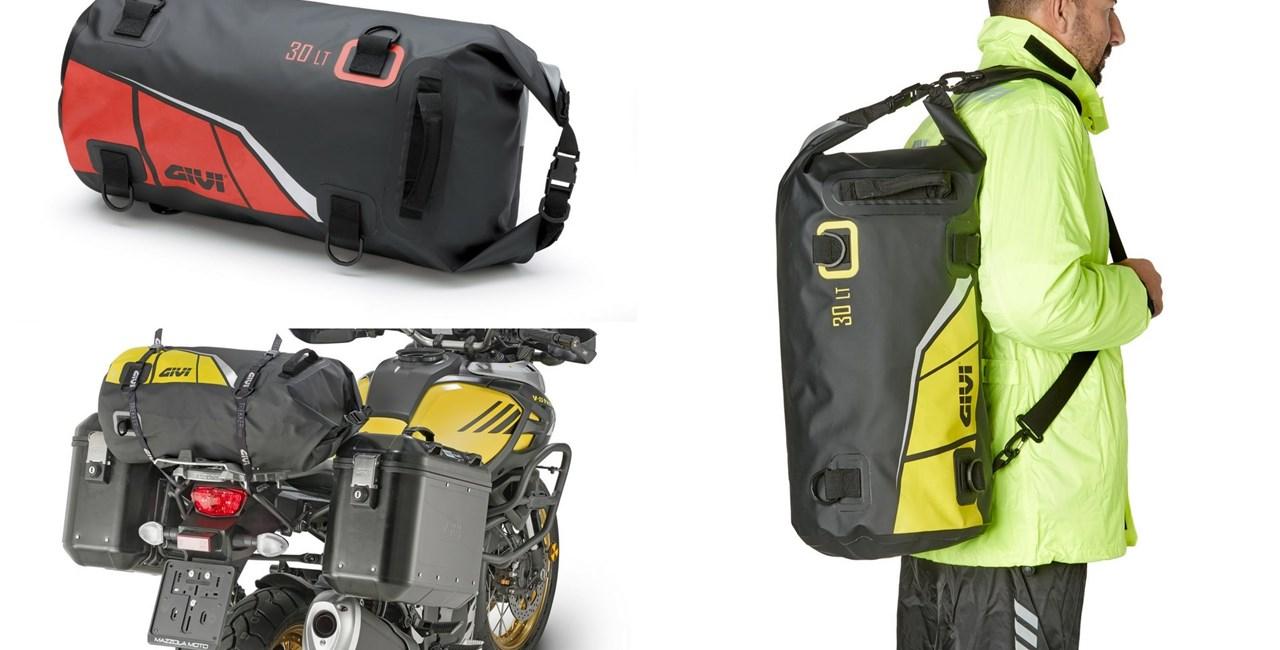 Neue Farben für GIVI Gepäckrollen