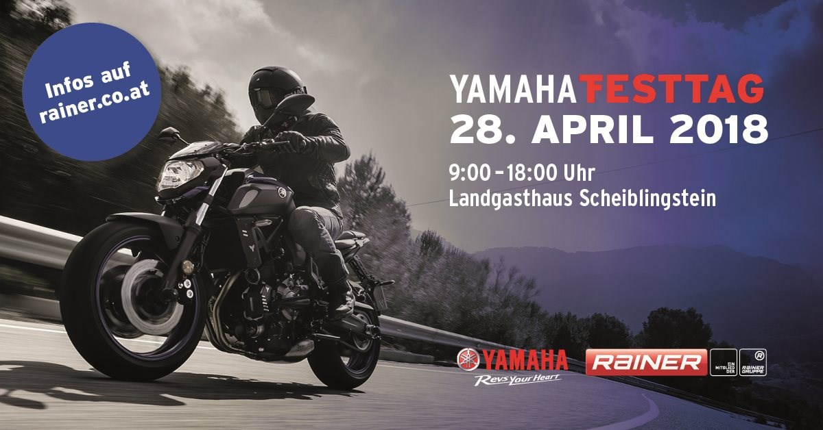 Yamaha Testtag am Exelberg - 28. April 2018