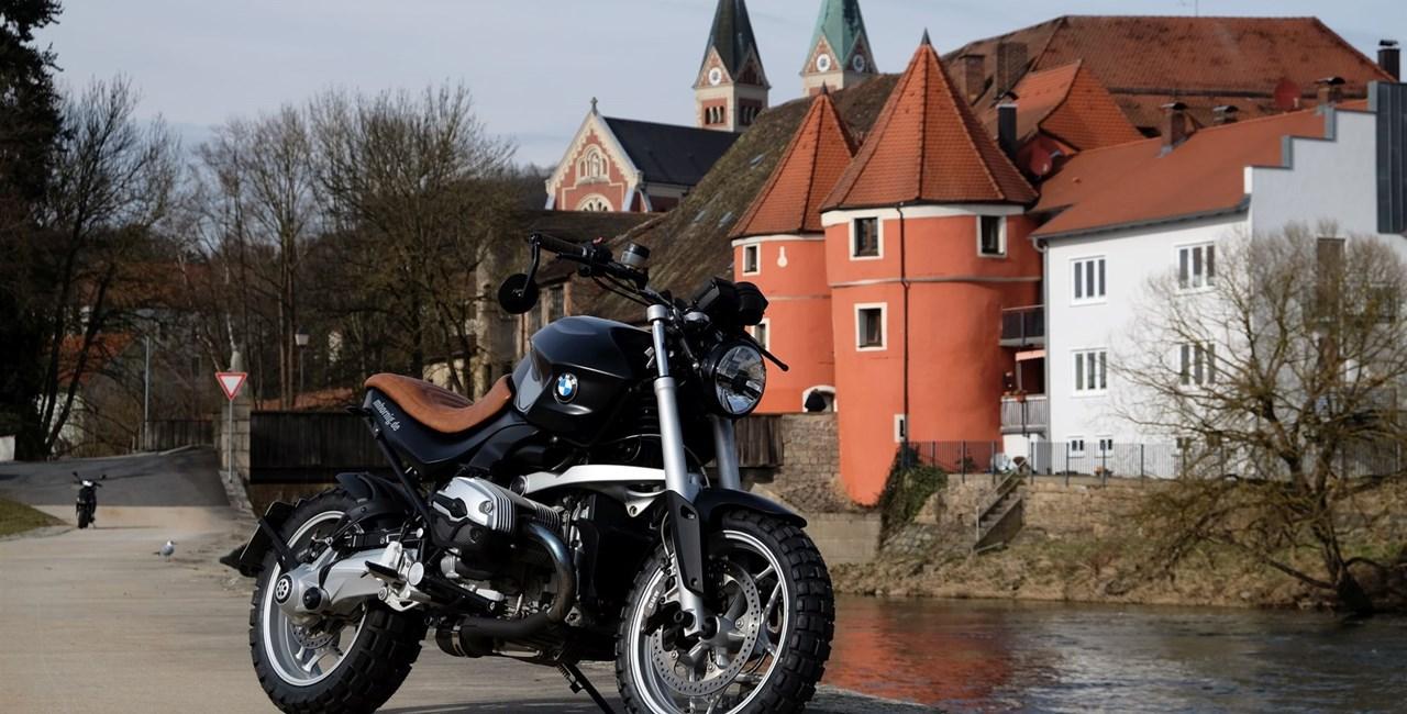 BMW R 1200 R Scrambler Umbau von Hornig