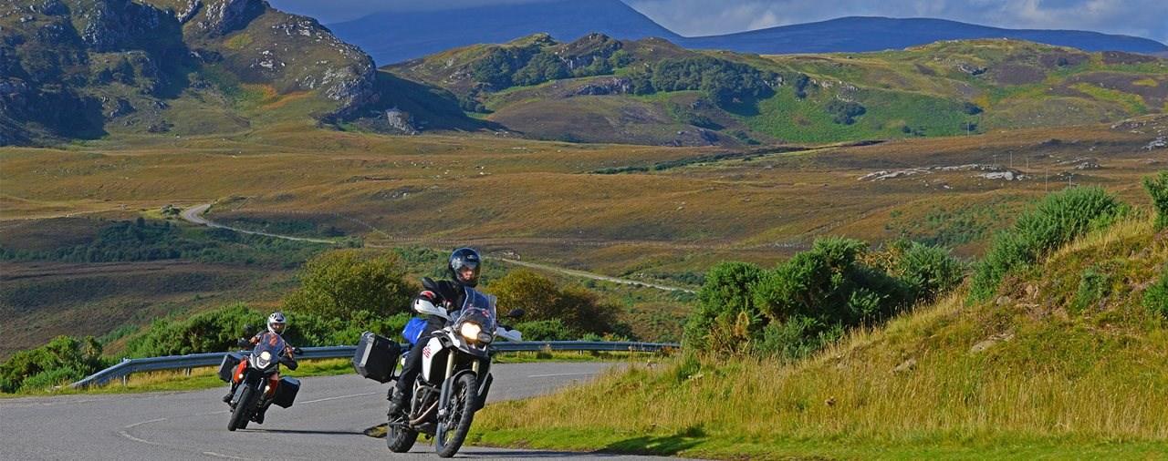 Sieben gute Gründe für eine Motorradtour nach Schottland