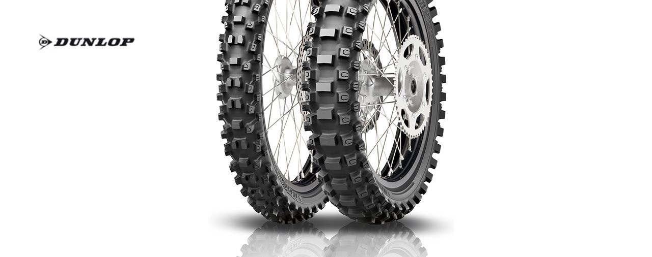 Dunlop präsentiert den Cross-Spezialisten Geomax MX33