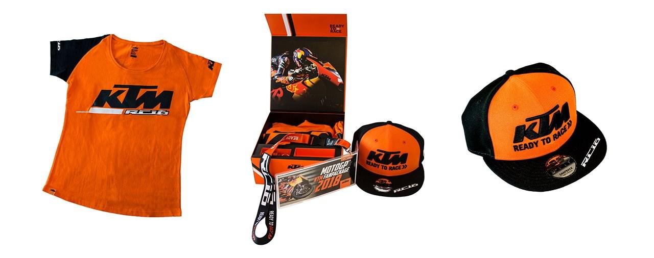 Das KTM Fan Package für die MotoGP am Spielberg