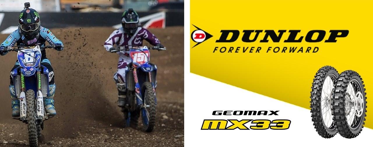 Platz 1 & 2 für Dunlop im WMX der MXGP in Teutschenthal