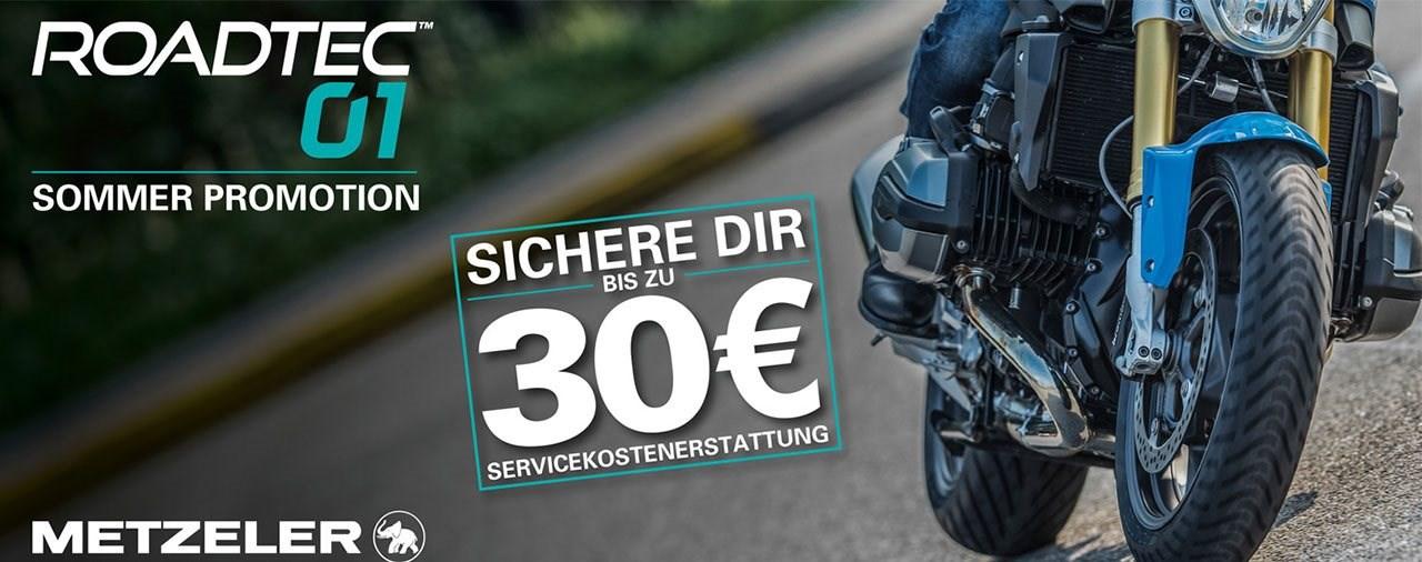 Metzeler Roadtec 01 Sommer-Promotion