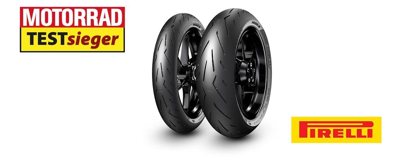 MOTORRAD-Testsieger: Pirelli Diablo Rosso Corsa II