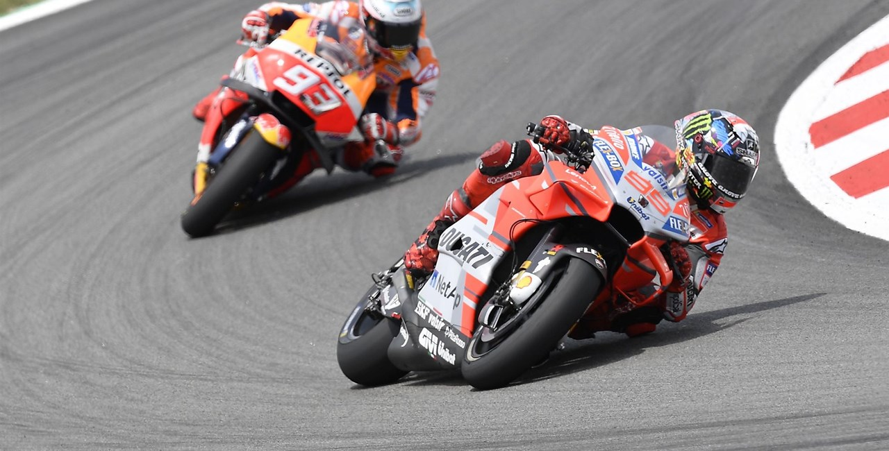 MotoGP Barcelona 2018 - Lorenzo siegt erneut auf Ducati!