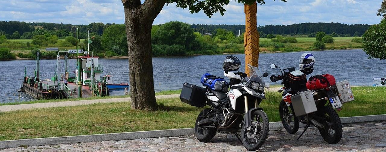 Go East im Spätsommer- Motorrad-Touren durchs Baltikum