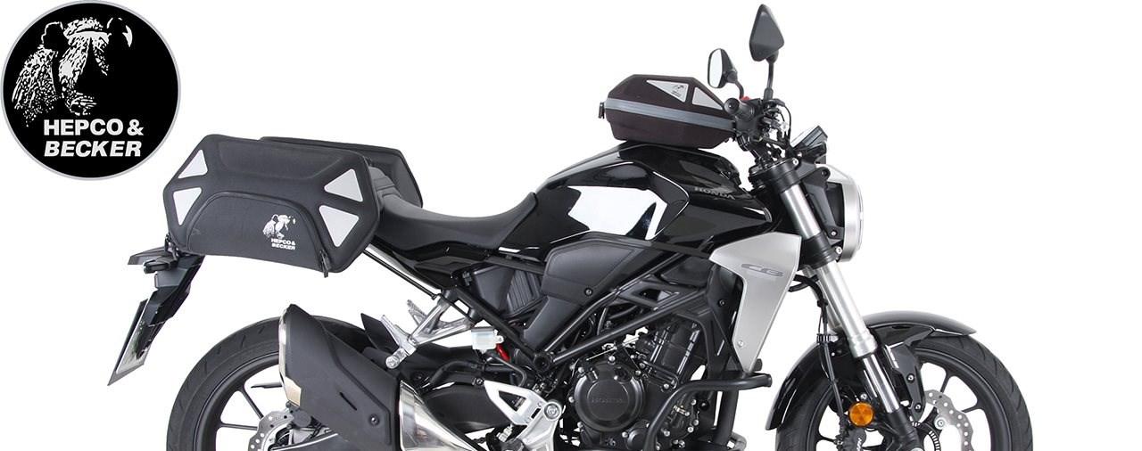 Zubehörteile von Hepco & Becker für die neue Honda CB 300 R