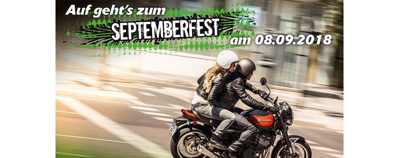 Neue Farben, junge Gebrauchte: Kawasaki feiert Septemberfest