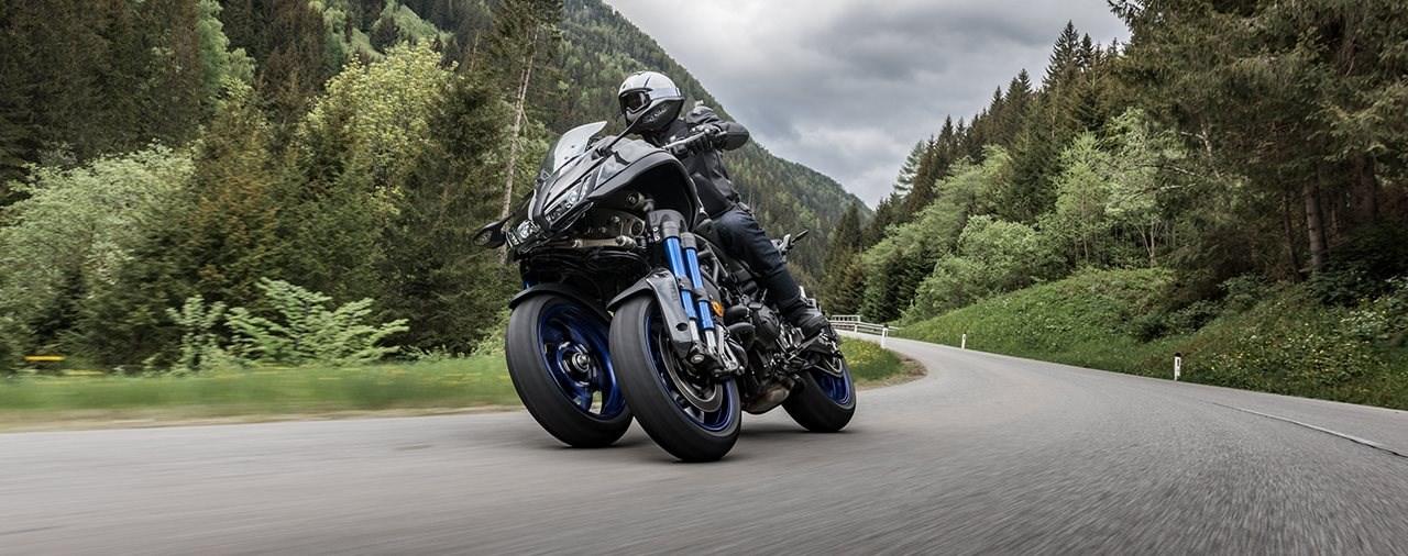 Exklusiv in Ischgl: Probefahrten mit der neuen Yamaha Niken